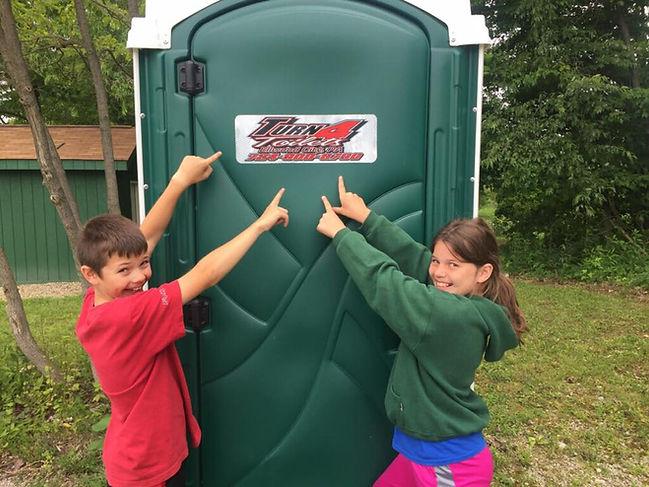 Portable Toilet Rentals - reliable + clean.