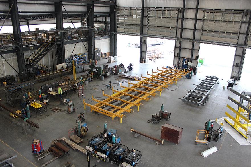 MODLOGIQ Off-Site Construction Plant -- Organized + Efficient.