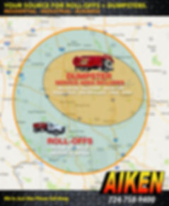 AIKEN Service Area Map
