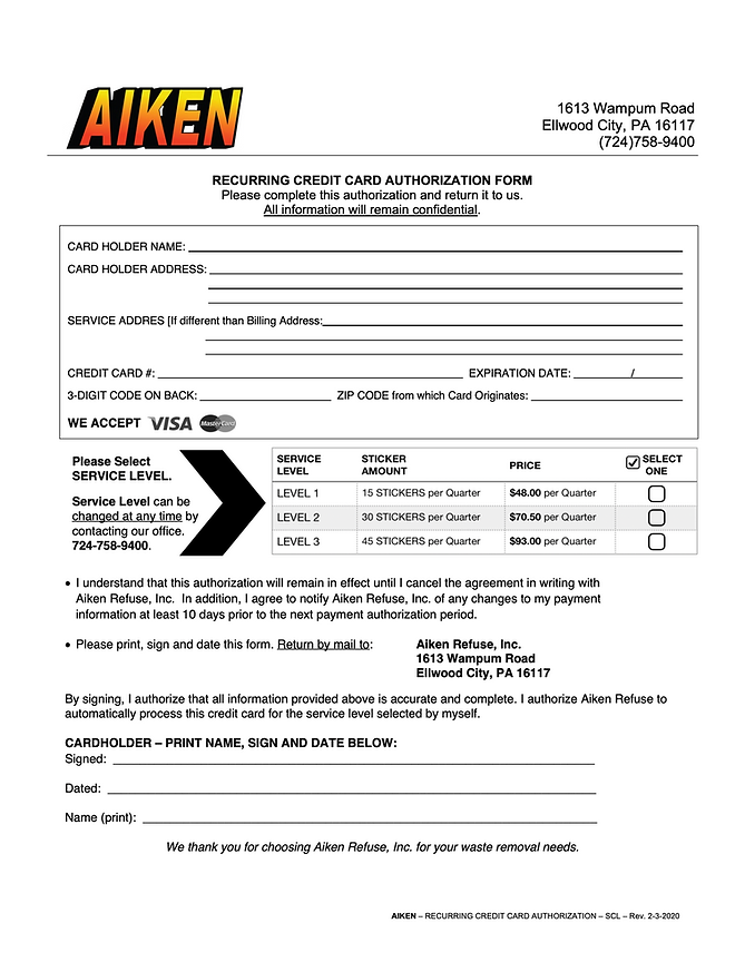 AIKEN-REFUSE-RECURRING-CREDIT-CARD-FORM.
