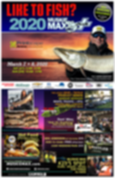 2020 MUSKIE MAX  Fishing Expo - ALL Angl