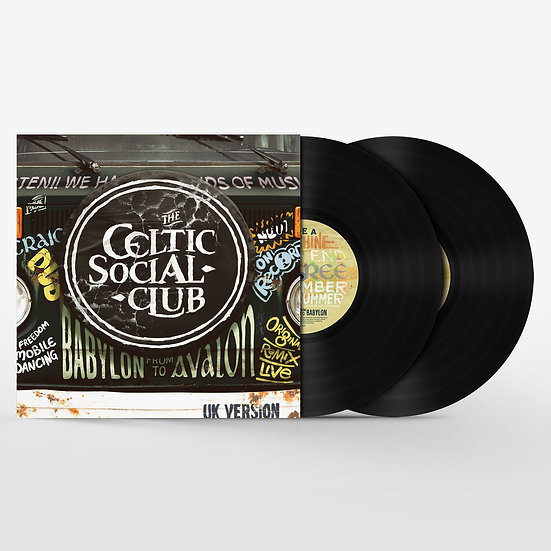 The Celtic Social Club 'From Babylon to Avalon' Vinyl