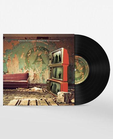 "Adrenaline Animals 'Screams from the Suburbs EP' 10"" Vinyl"