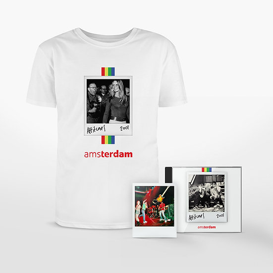 Amsterdam 'Attitunes' CD, Polaroid & T-Shirt