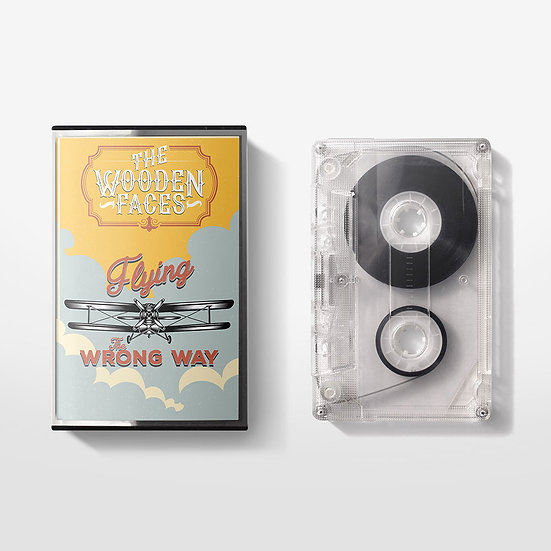 The Wooden Faces 'Flying the Wrong Way' Cassette