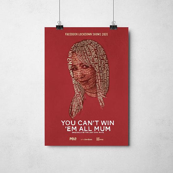 Mel Lockdown Poster