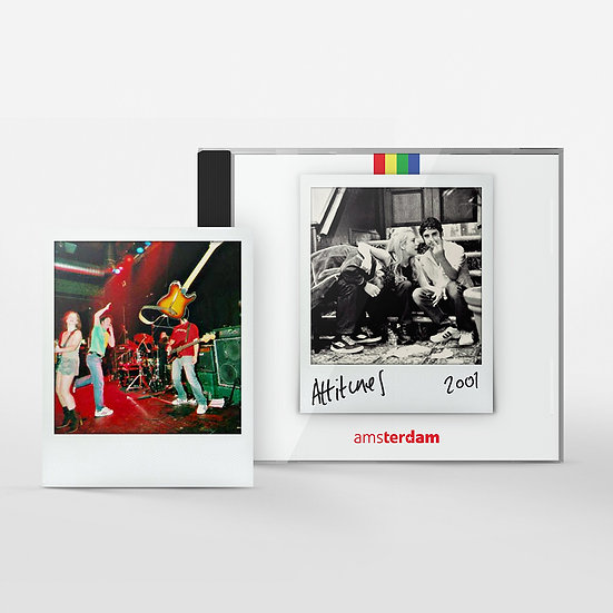 Amsterdam 'Attitunes' CD & Polaroid
