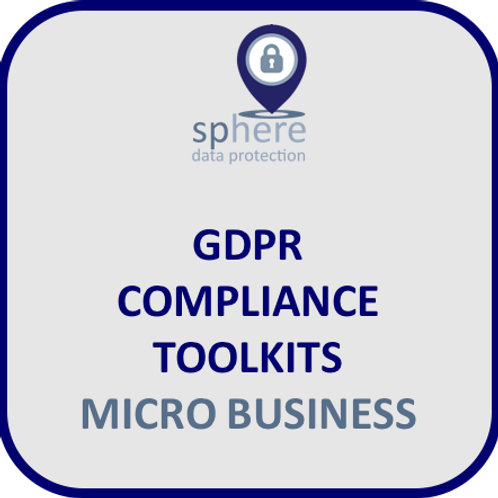 SPHEREDP GDPR TOOLKIT FOR MICRO BUSINESS