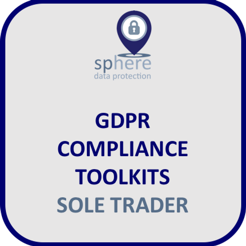 SPHEREDP GDPR TOOLKIT FOR SOLE TRADERS