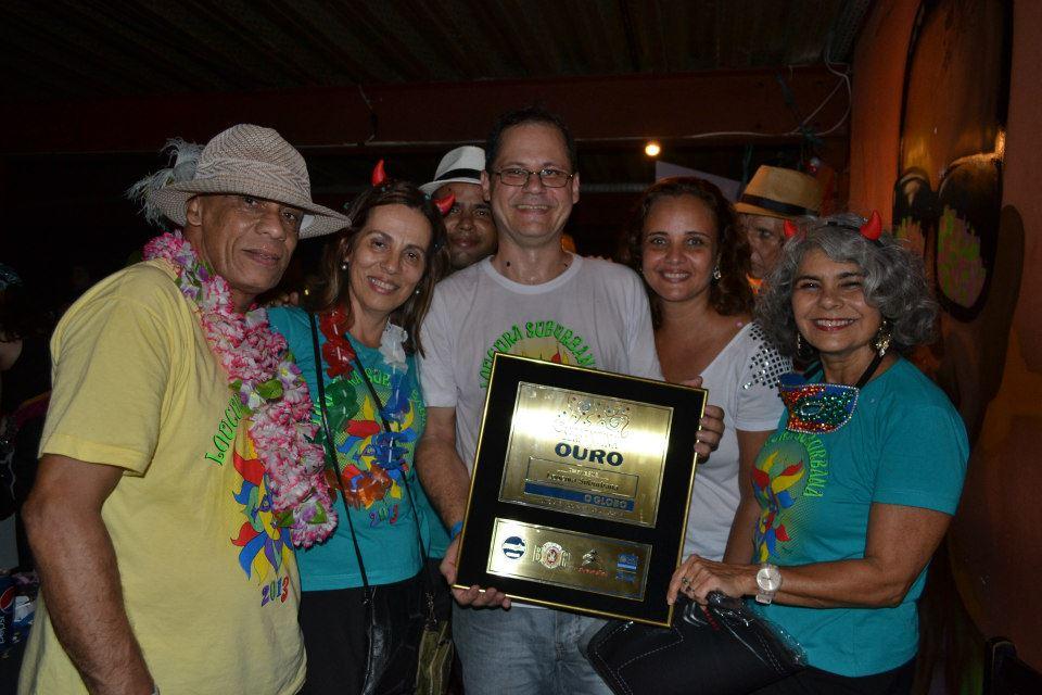 PRÊMIO SERPENTINA DE OURO 2013