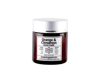 Aroma Candle - Bitter Orange and Spicy Cinnamon