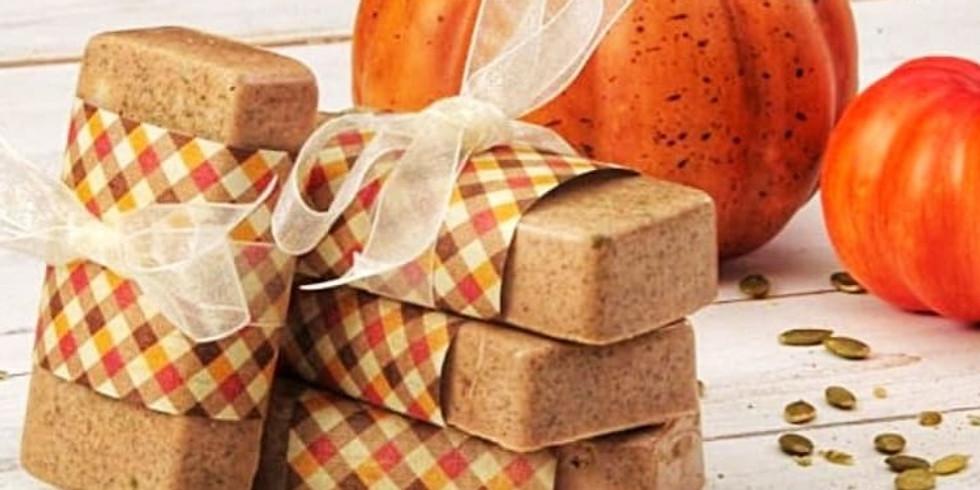 Pumpkin Soap Workshop