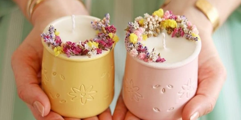 Natural Aroma Candle Workshop