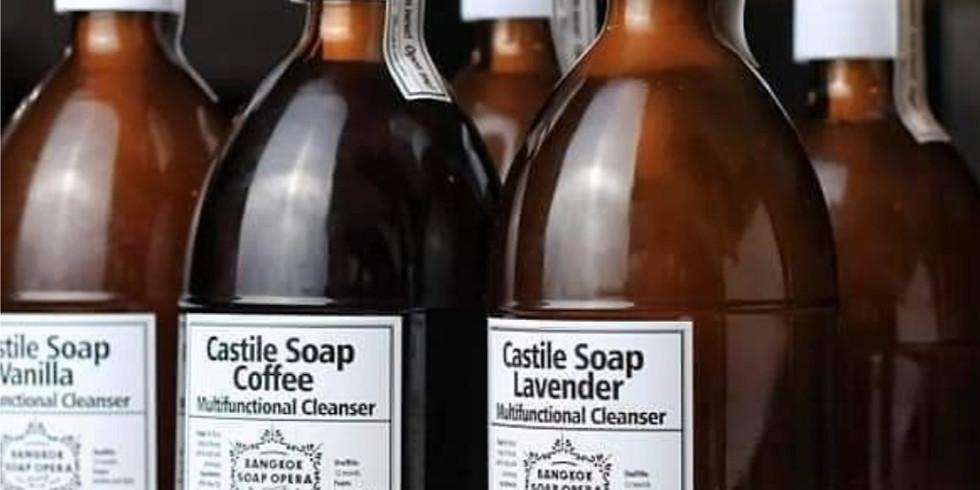 Liquid Castile Soap Workshop