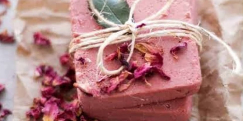 Natural Clay Soap Workshop