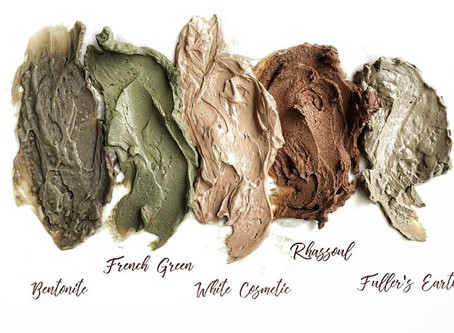 Simple Guide to Cosmetic Clay Types & their Uses!
