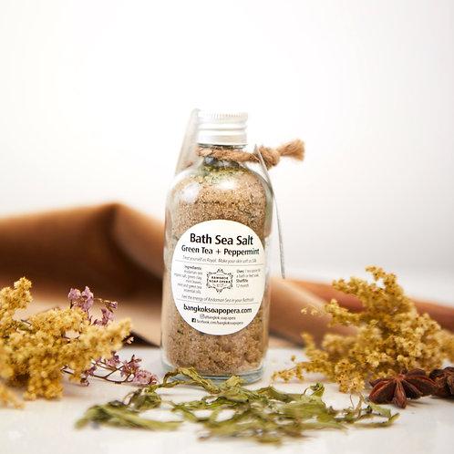 Bath Aroma Salt - Green Tea