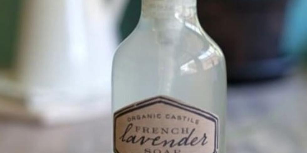 Natural Lavender Liquid Soap