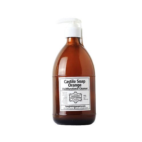 Liquid Castile Soap -Orange