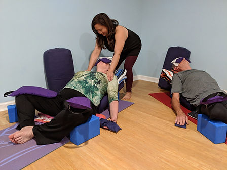 Yin and Restorative Yoga with AnnMarie M