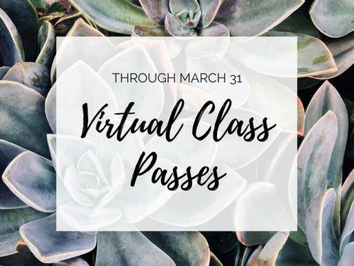 Virtual Class Passes