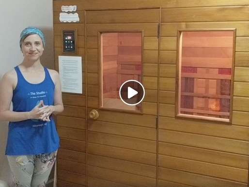 Make the most of your infrared sauna session