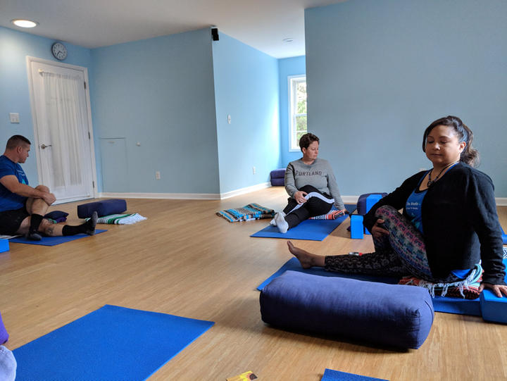 Yoga props and studio rental in Hillsborough, NC