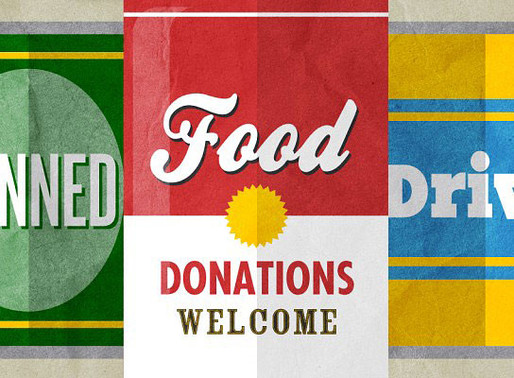 Food drive for free classes, June 17-22