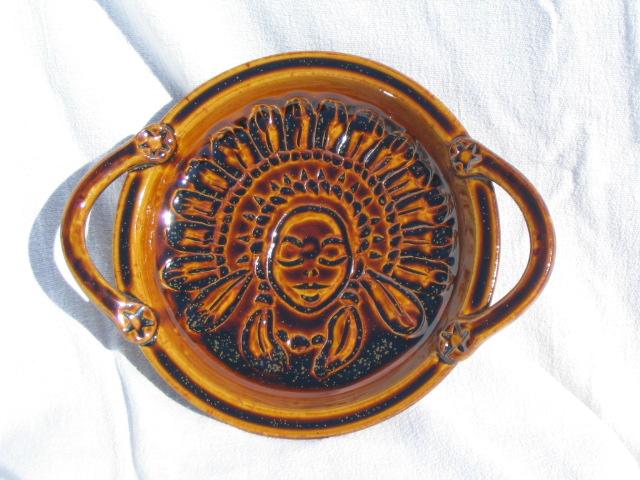 Indian princess plate