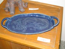 Winged dragon tray