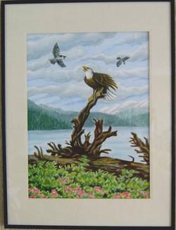 Teasing the Eagle