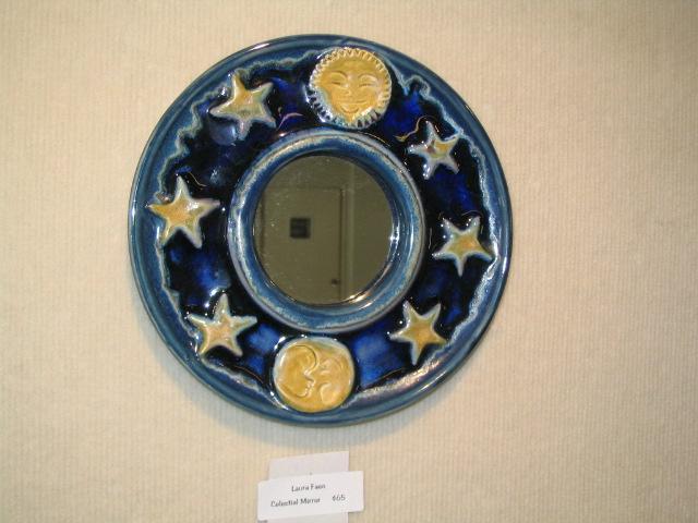 Moon and stars mirror