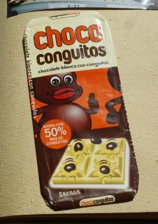 choco conguitos chocolate bar
