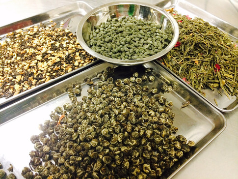 our teas for making truffles