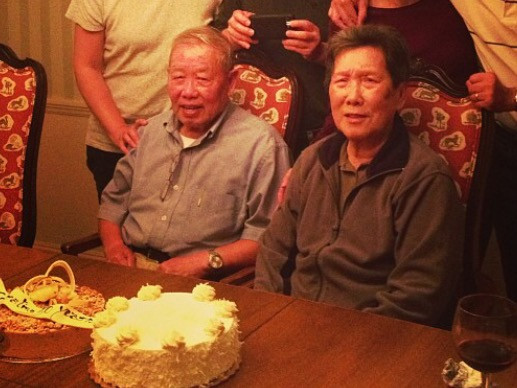 Grandparents' 50th anniversary of immigrating to the US