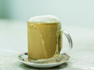 Teh Tarik : The Magic of Pulled Tea