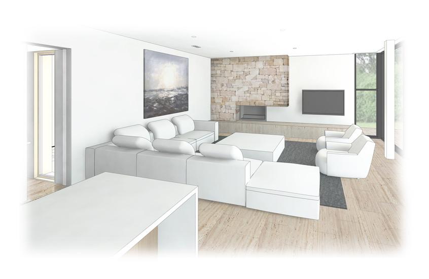 Courtico Dunsborough House Living Room R