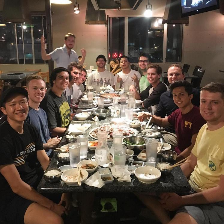 Alumni and Active KBBQ Night