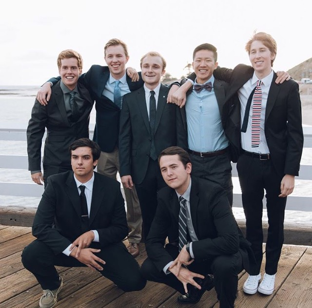 Brothers at Formal 2018
