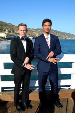 Grant and Josh at Formal