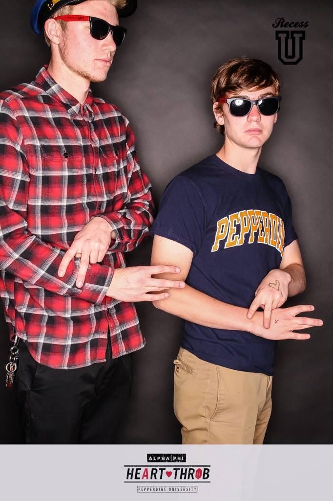 Matt and Josh