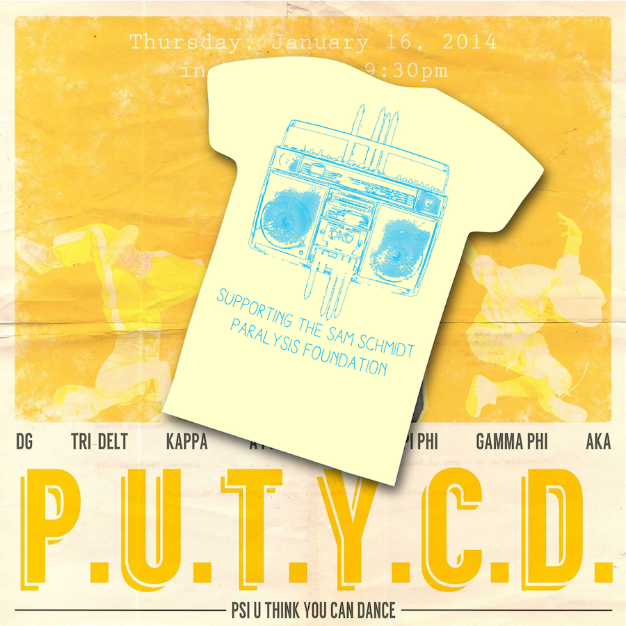 PUTYCD Shirt Designs 2014