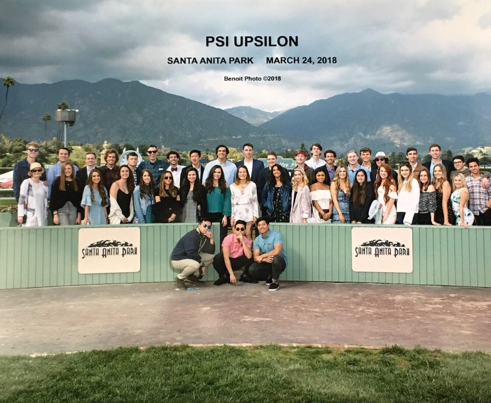 Psi U Date Day at the Races