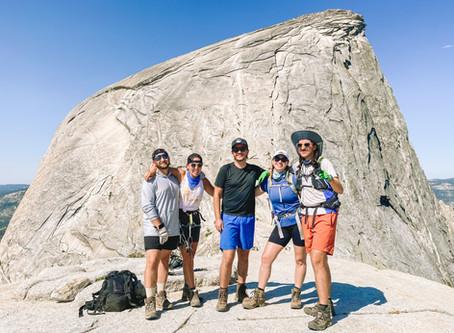 Yosemite and Hiking Half Dome