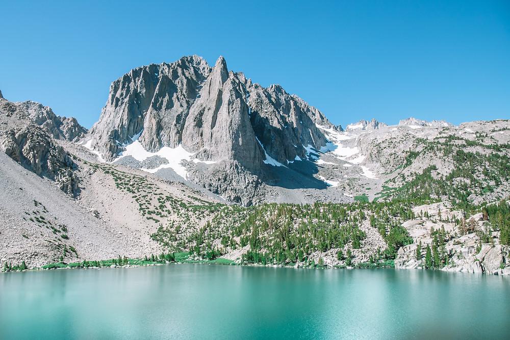 Big Pine Lakes Trail, Lake 2
