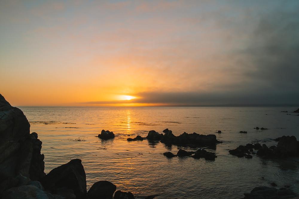 Sunrise Monterey, California