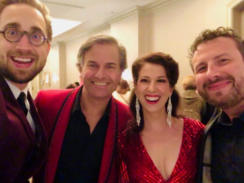 With my dear friends Natalie Cordone, Shawn Kilgore and Josh Wilson