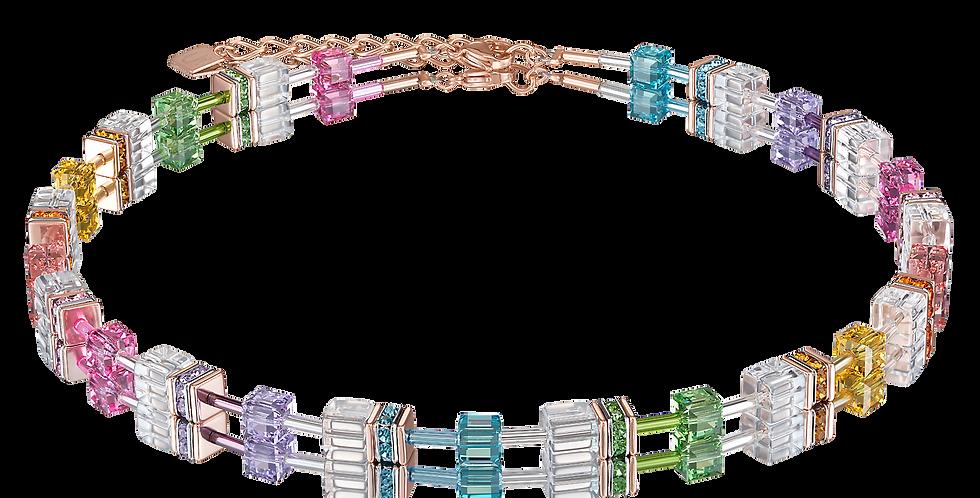 GeoCUBE® Necklace Multicolour-Crystal