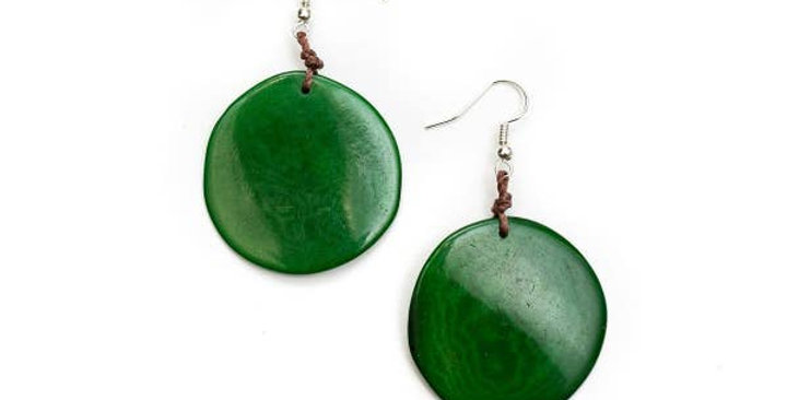 Oro Tagua Earrings