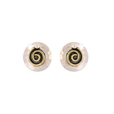 Spiral Stud Earrings